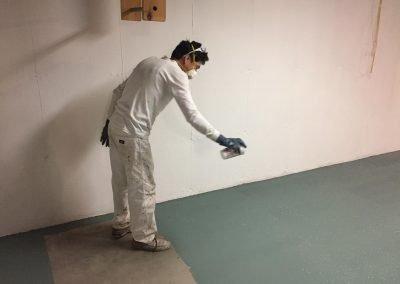 Interior Painting Basement Guilford CT