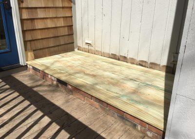 Deck Repair Done By Coastline Painters