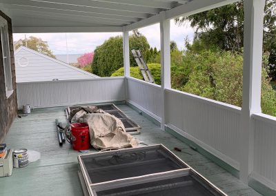 Porch and Deck Painting in Madison CT - After