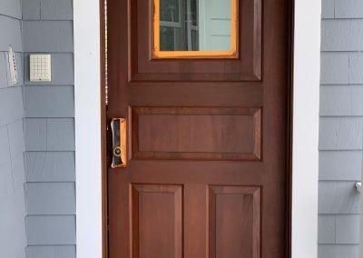 Exterior Door Painting Madison CT Coastline Painters