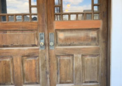 Before - Madison CT Door Painting
