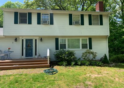 Exterior Deck Painting Guilford CT - Before
