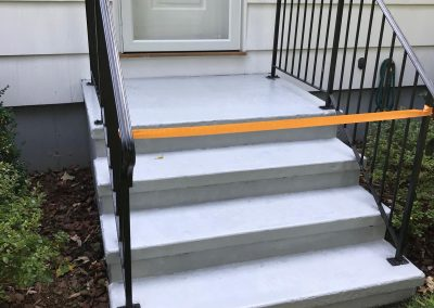 Exterior Step Painting Done By Coastline Painters